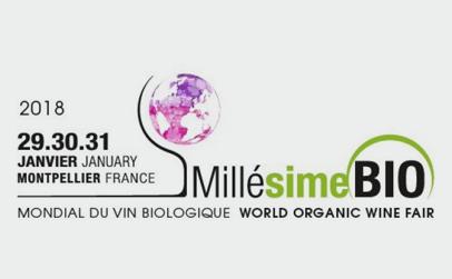 Millésime Bio, world organic wine fair 2018